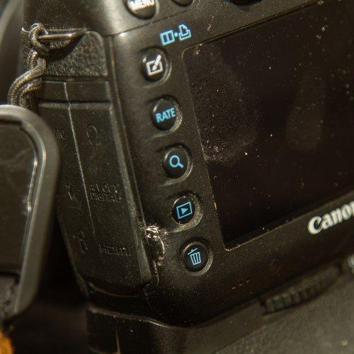 Lite stryk fick den allt, men den fungerar fortfarande förutom knappen visa bilder som fungerar intermittent :-)